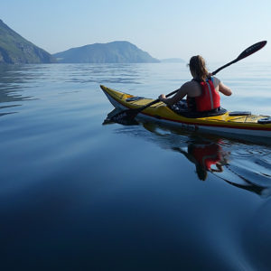 Kayaking With Full Day Dhow Cruise