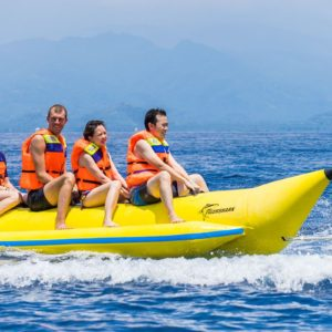Banana Boat Ride With Dhow Cruise in Musandam