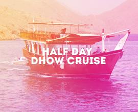 Khasab Musandam Half Day Dhow Cruise