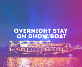 Khasab Musandam Overnight Stay on Dhow Boat