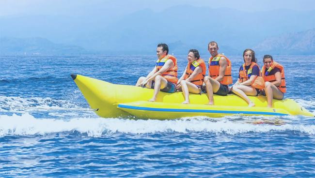 Khasab Musandam Banana Ride